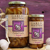 Pickled Garlic & Olives