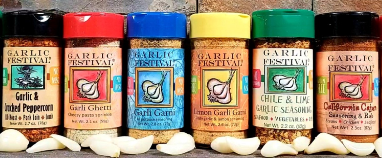 Garli Garni All Purpose Garlic Seasoning
