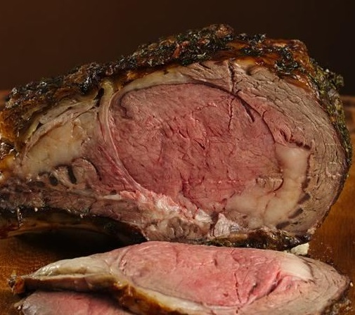 Garli Gasm Crusted Prime Rib