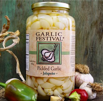 Jalapeno Pickled Garlic Quart