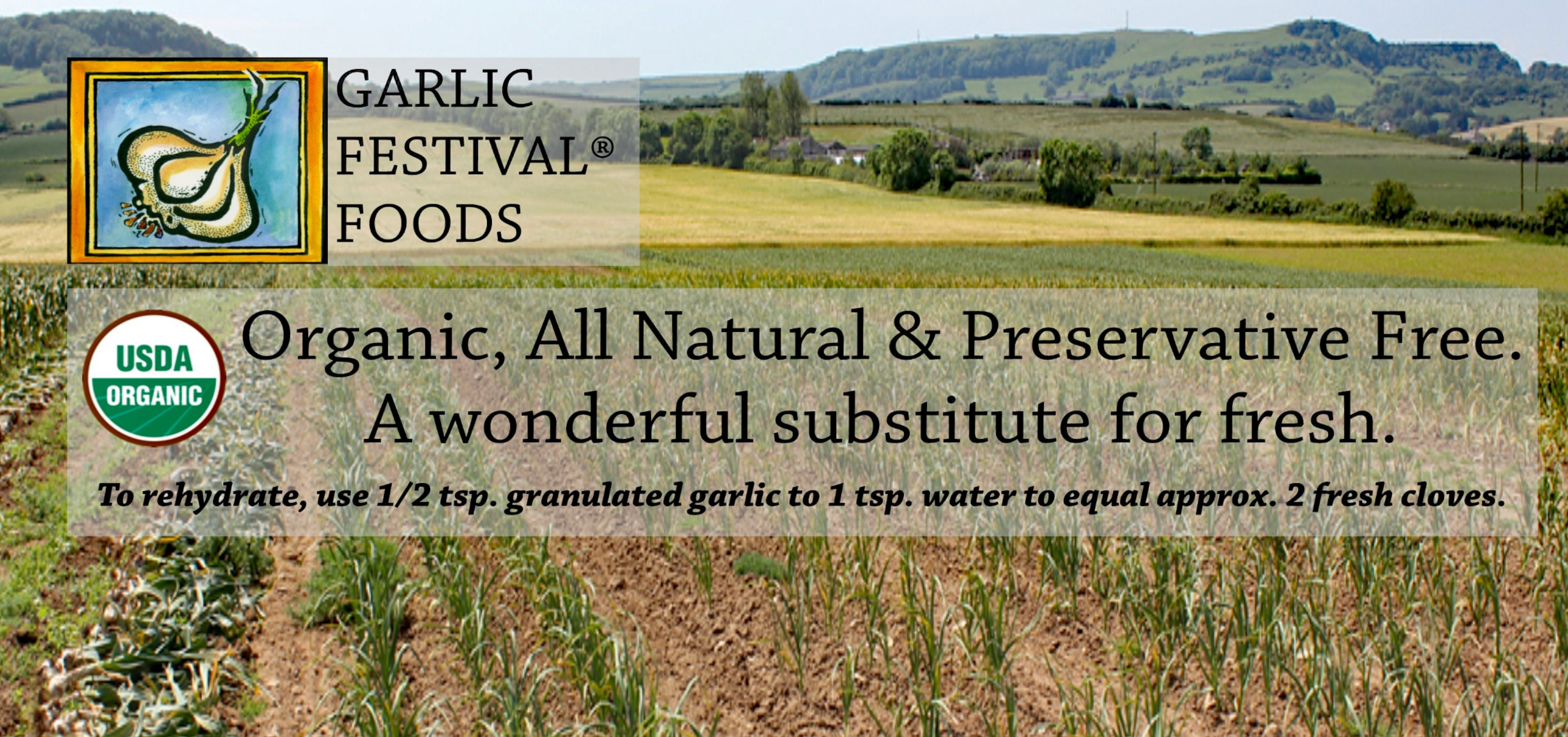 Garlic Festival Foods Organic Garlic