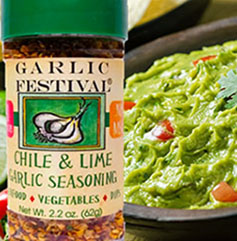 Garlic Chili & Lime Seasoning