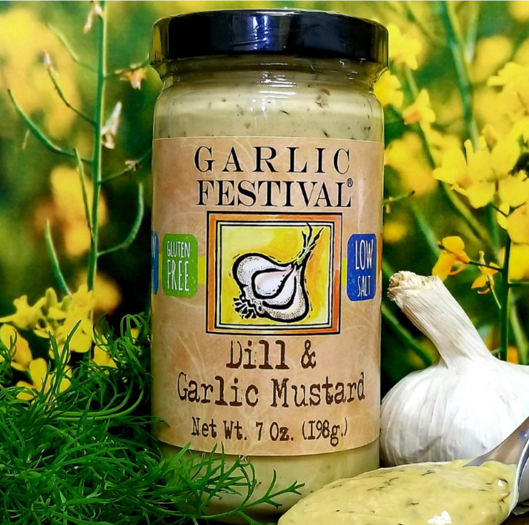Garlic Festival Foods