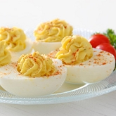 Garlicky Deviled Eggs