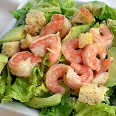 Shrimp with Garlicky Lemon Vinaigrette