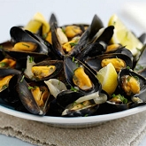 Garlic Festival Foods Garlic Guru's Garlic Mussels Recipe
