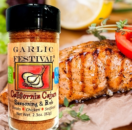 California Cajun  Seasoning & Rub 2.3 oz.