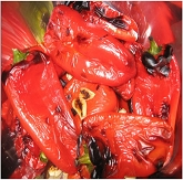 Rustic Roasted Peppers with Garlic
