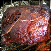 Garlic Festival Foods Mesquite Smoked Pork Shoulder Recipe