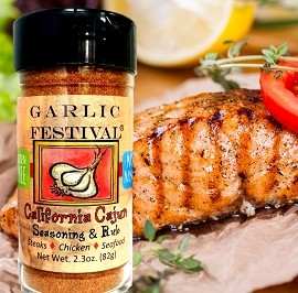 California Cajun Seasoning & Rub Case of 12 jars
