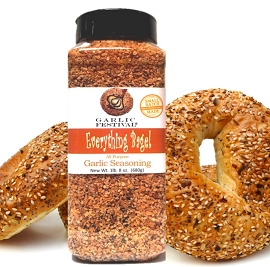 Everything Bagel Garlic Seasoning Grande