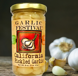 California Pickled Garlic 8 oz.