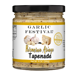 Asiago Garlic & Parmesan Tapenade 9oz.