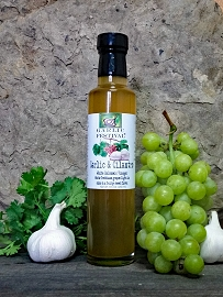 Garlic & Cilantro Infused White Balsamic Vinegar  Case of 12