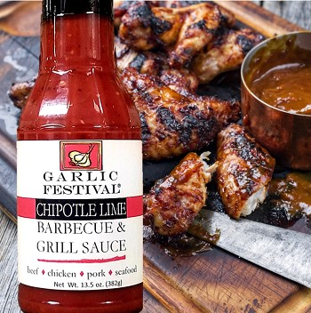 Garlic Chipotle Lime BBQ & Grill Sauce Case of 12