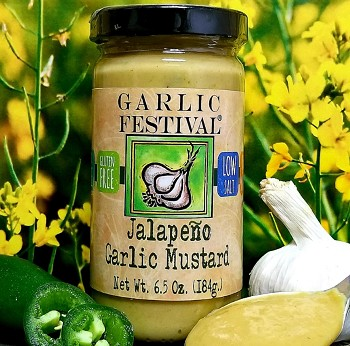 Garlic Jalapeno Mustard Case of 12