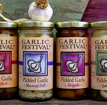 Mix-n-Match Pickled Garlic Case of 12 Jars