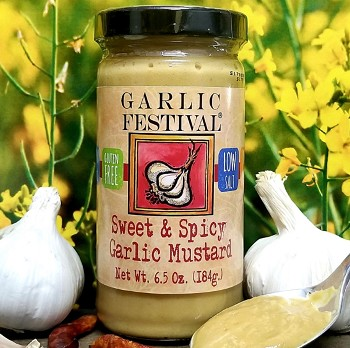 Sweet & Spicy Garlic Mustard Case of 12