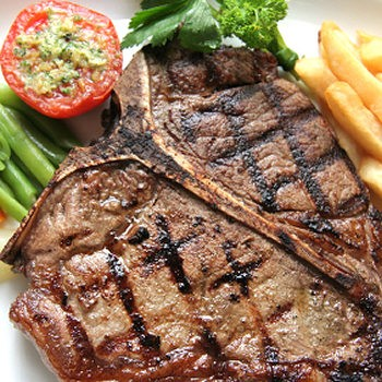 Garlic Festival Foods Mesquite Steaks Recipe