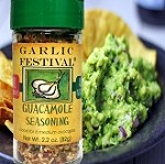 How to Use Garlic Festival Guacamole Seasoning