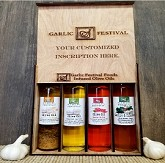 Garlic Festival Infused Oils Gift Pack